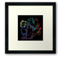 Of Light and Darkness Framed Print