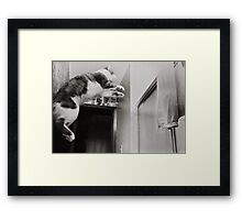 Moments With Max #2 Framed Print