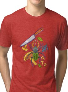Deep in the woods Tri-blend T-Shirt