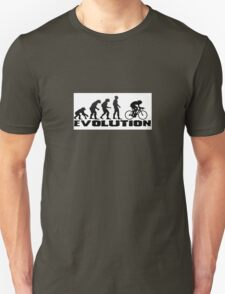 cycling evolution  Unisex T-Shirt
