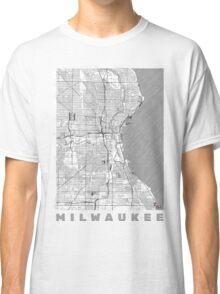 Milwaukee Map Line Classic T-Shirt