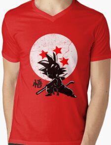 KID HERO - Son Goku Mens V-Neck T-Shirt