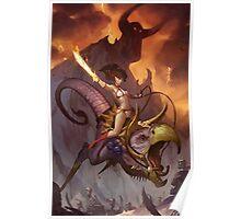 Girl Beast Rider Poster