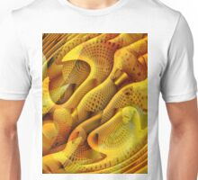 Abstract Honeycomb Unisex T-Shirt