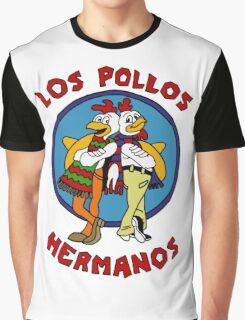 LOS POLLOS BREAKING BAD Graphic T-Shirt