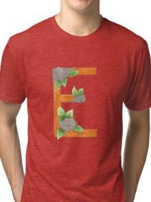 E is for Elderflower Tri-blend T-Shirt