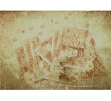Fifty Pound Notes Photographic Print