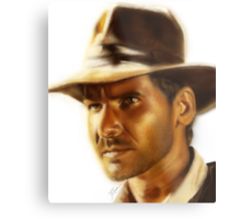 Indiana Jones Metal Print