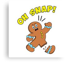 Oh Snap cookies Canvas Print