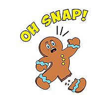 Oh Snap cookies Photographic Print