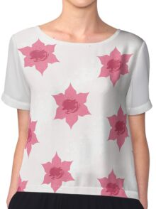 Flowers Chiffon Top