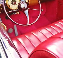 red interior, car show by cloewald