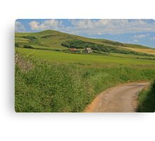 Wears Hill, Abbotsbury Canvas Print