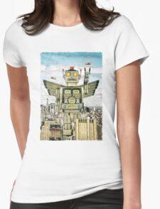 RETROBOT Womens Fitted T-Shirt