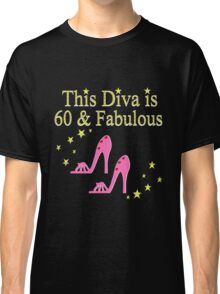 PINK SPARKLING 60 AND FABULOUS Classic T-Shirt