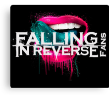 Falling in Reverse  Canvas Print