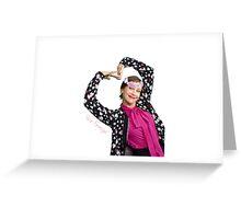 Vera Farmiga Greeting Card