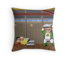 Hammerin Harry Throw Pillow