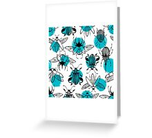 Exotic beetles Greeting Card