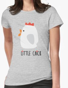Little Chick Womens Fitted T-Shirt