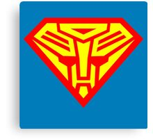 Truth, Justice & the Cybertronian Way Canvas Print