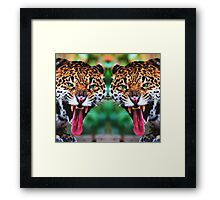 Angry and Free Framed Print