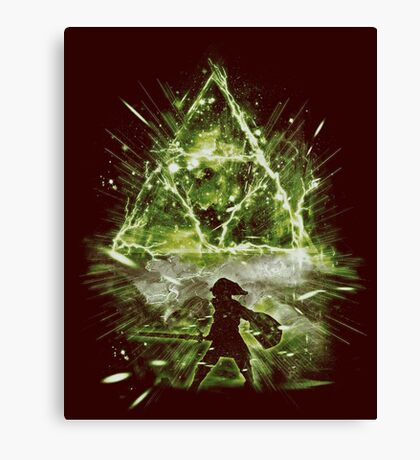 triforce strorm Canvas Print