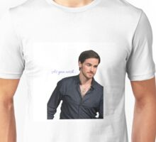 Colin O'donoghue  Unisex T-Shirt