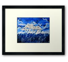 A Storm is Coming Framed Print