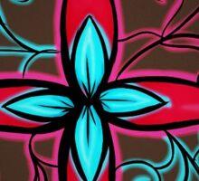 something flowerish Sticker