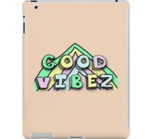 Good Vibez iPad Case/Skin