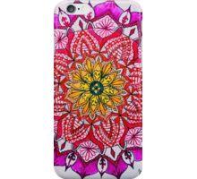 Flowerburst Mandala iPhone Case/Skin