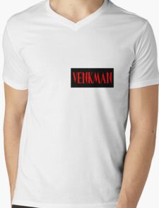 Ghostbusters Venkman Name Tag Mens V-Neck T-Shirt