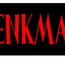 Ghostbusters Venkman Name Tag Sticker