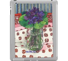 Violets from Judy iPad Case/Skin