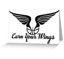 Earn Your Wings Greeting Card