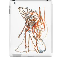 Umbrella Samurai Woman iPad Case/Skin