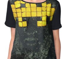 Epic Space Invaders Chiffon Top