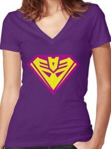 Bizarrocon No. 1 Women's Fitted V-Neck T-Shirt