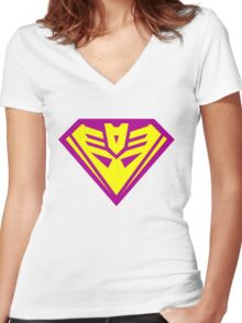 Bizarrocon No. 1 Women's Fitted V-Neck T-Shirt