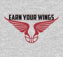 Earn Your Wings - RED RING Kids Tee