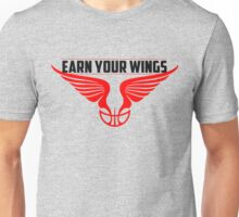 Earn Your Wings - RED RING Unisex T-Shirt