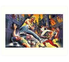 Streets Of Rage Epic Art Print