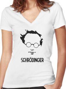 Breaking Bad Schrodinger Women's Fitted V-Neck T-Shirt
