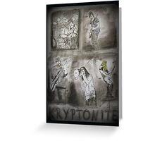 Kryptonite - Kryptonite.rocks - Hard Rock Band - Gelsenkirchen Greeting Card