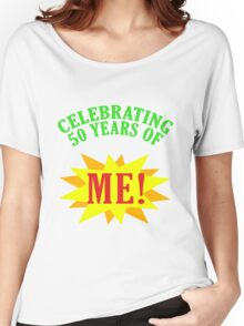 Celebrating 50th Birthday Women's Relaxed Fit T-Shirt