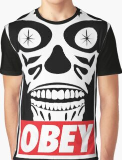 They Obey Graphic T-Shirt