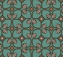 Art deco pattern Sticker