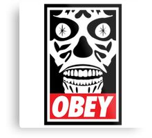 They Obey Metal Print