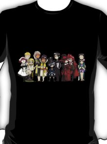 Black Butler Cast T-Shirt